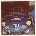 Bernard Darniche - Alain Mahe, Renault Alpine A110, 10thz