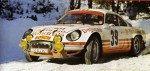 Claude Ballot-Lena - Jean-Claude Morenas, Renault Alpine A110, 23rd