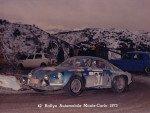 Francis Serpaggi - Jean Sialelli, Renault Alpine A110a