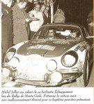 Michel Jullien - Yves Celestin, Renault Alpine A110, retired