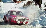 Sandro Munari - Mario Manucci, Lancia Fulvia HF, accidentd