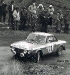 Sandro Munari - Mario Manucci, Lancia Fulvia HF, accidentn