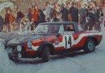 Sergio Barbasio - Luigi Macaluso, Fiat 124 Abarth Spider, retirede