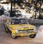Sylvia Osterberg - Inga-Lill Edenring, Opel Ascona, 28th